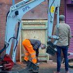 Banksy-Nottingham Mini Digger Hire.-2